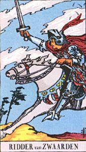 Ridder Zwaarden - Rider Waite Tarot